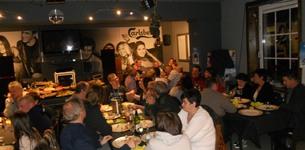 Sfeerfoto's bij Café de Vrede te Gooik